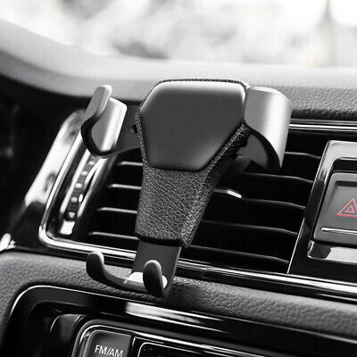 Gravity Car Air Vent Mount Cradle Holder Stand for Smart Mobile Cell Phone GPS