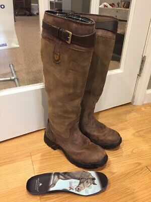 Smoky Mountain Women/'s Shelby Pull On Straps Stitched Design Square Toe Brown Wa
