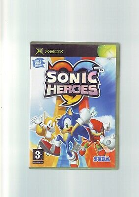 Sonic Heroes - The Hedgehog - Xbox Game / 360 Compatible - Original & Complete