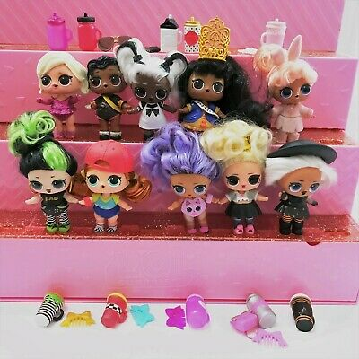 LOL Surprise Doll Lot of 10 HAIRGOALS Makeover Series Ultra Rare Collectible