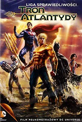 Justice League: Throne of Atlantis DVD - DVD  ZUVG The Cheap Fast Free Post