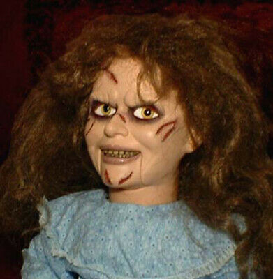 """HAUNTED Exorcist Ventriloquist doll """"EYES FOLLOW YOU"""" dummy puppet"""