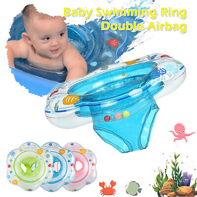 Inflatable Baby Kids Swimming Ring Float Infant Toddler Swim Seat Water Pool Aid