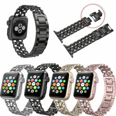 New Stainless Steel Wrist Band Bracelet Strap For Apple Watch iWatch 38mm 42mm