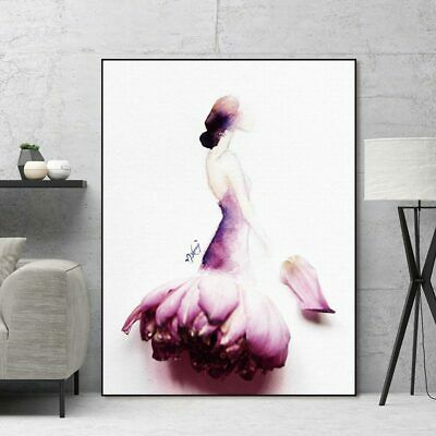 Canvas painting wall art picture decoration poster art print girl wall picture