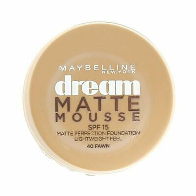 Maybelline Dream Matte Mousse | 40 FAWN | Matte Perfection Mousse | SPF 15