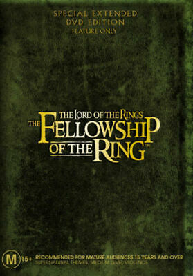 The Lord of the Rings: The Fellowship of the Ring (Extended Edition) DVD NEW