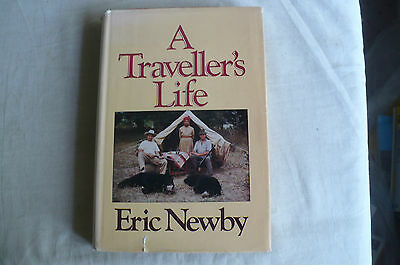 "Eric Newby""A Travellers Life"" Hd/Bk 1St In Jacket 1982"