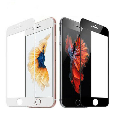 Apple iPhone 8 7 Plus 5D Full Coverage Tempered Glass Film Screen Protector