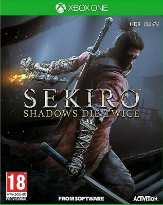 Sekiro Shadows Die Twice for Xbox One Not disc or code Read description