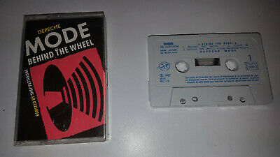 * Rare Cassette Tape * Depeche Mode - Behind The Wheel * Album Lp