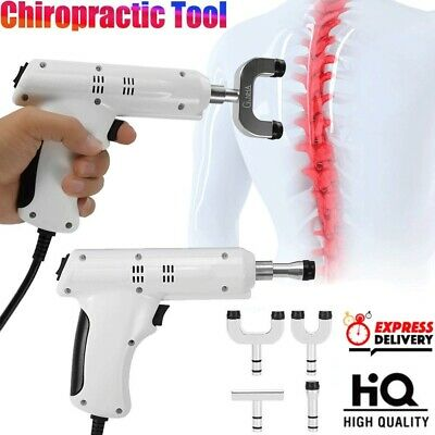 300N Chiropractic Adjusting Massager Gun Correction Gun Spine Therapy Impulse