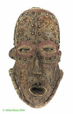 Bete Mask with Studs Ivory Coast African Art SALE WAS $750.00