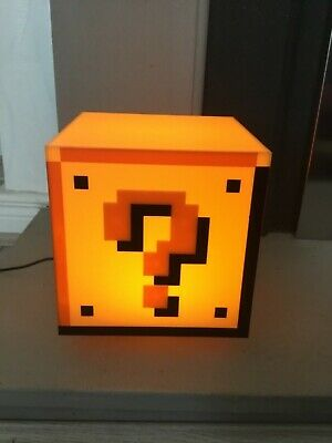 Super Mario Question 93Picclick Block 19 Fr Eur Lampe sthQCrdoBx