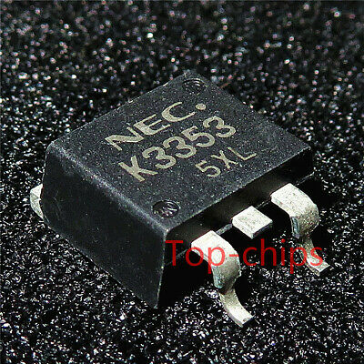 10PCS BTS115A TO-263 MOS Field effect tube 15.5A//50V N channel straight plug NEW