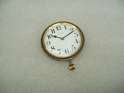 Antique / Vintage 8 Day Travel Clock