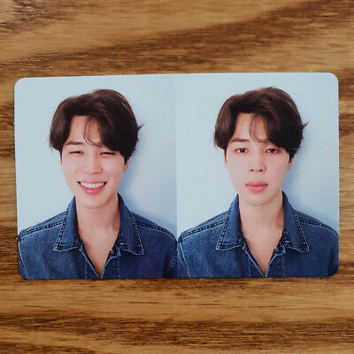 Jimin Official Photocard BTS Love Yourself Tear R Version Fake Love Kpop