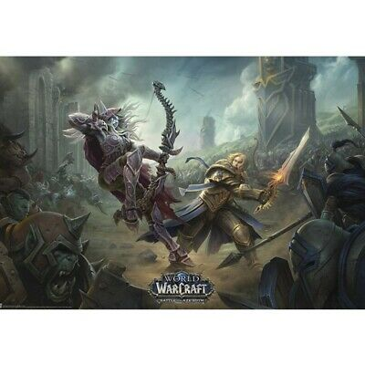 "WORLD OF WARCRAFT - Poster ""Battle for Azeroth"" (91.5x61)"