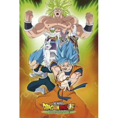 "DRAGON BALL BROLY - Poster - ""Group"" (91.5x61)"