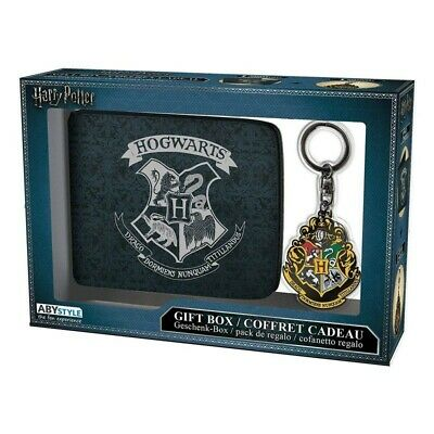"HARRY POTTER - Pck Wallet + Keyring ""Hogwarts"""