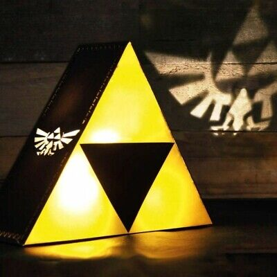 Lámpara Decoración Mesilla the Legend of Zelda Tri-Force
