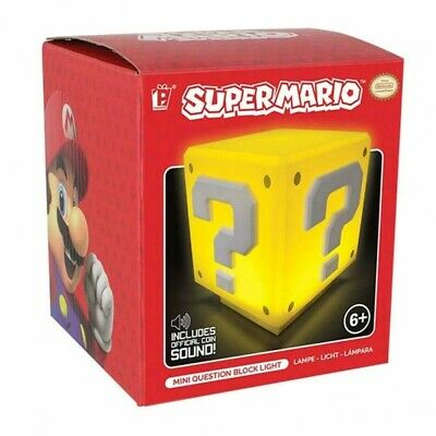 Lámpara Mesilla Super Mario Bros Question Block