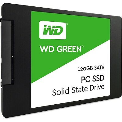 Western Digital Green 120 GB,Internal,2.5 inch (WDS240G1G0A) Solid State Drive