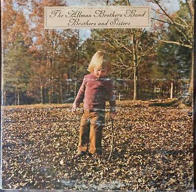 The Allman Brothers Band ‎– Brothers And Sister 1973 Capricorn First Pressing VG