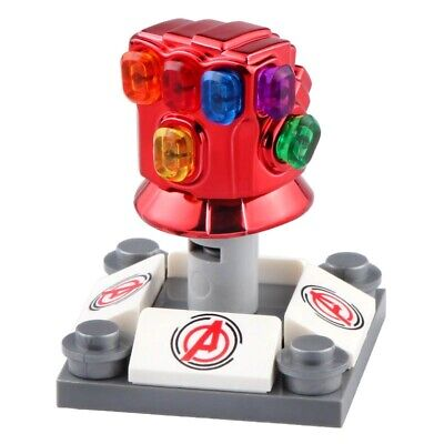 Infinity Gauntlet Red (End Game) - Marvel Thanos Lego Minifigure Toy Collection