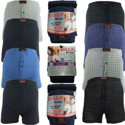 Mens Classic Billy Boxer 6 PACK Shorts Cotton  Briefs Underwear Pants S TO 5xl
