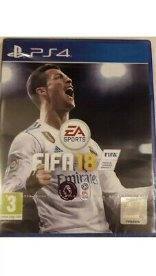 FIFA18 PS4 PlayStation 4 Football Game EA Sports Brand New & Sealed