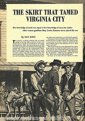 Mary Louise Raintree -The Skirt That Tamed Virginia City