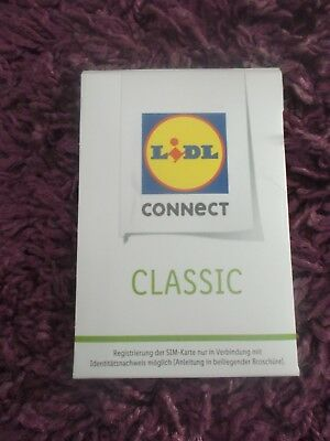 Lidl Connect Smart S Sim Karte 10 Euro Startguthaben Handy