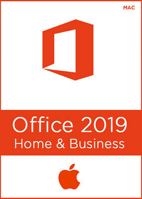 ⭐️🔑 Microsoft Office Home and Business 2019 |Mac | 100% Genuine | license⭐️🔑