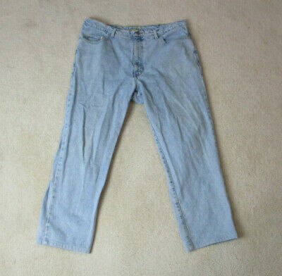 d6ad87d59fa VINTAGE Guess Jeans USA Pants Mens Size 40 Blue Jeans Spell Out Mens 90s *