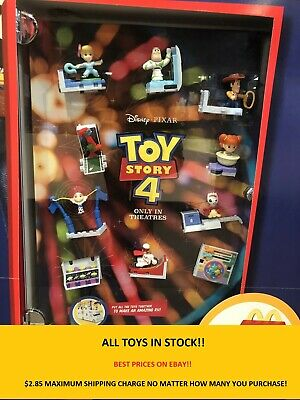 2019 Disney McDonalds Toy Story 4 Happy Meal Toys YOU PICK - $2.85 MAXIMUM SHIP!