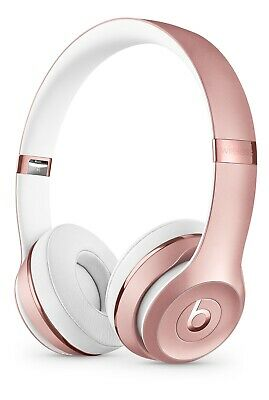 Beats by Dr. Dre Solo3 Headband Wireless Headphones - Rose Gold- Brand New