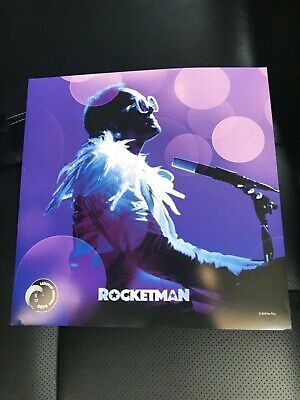 Rocketman Limited Edition Poster 12 x 12 (Elton John) - Version Two