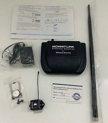 MonnitLink Ethernet Gateway For Wireless Sensors  With Wireless Vehicle sensor