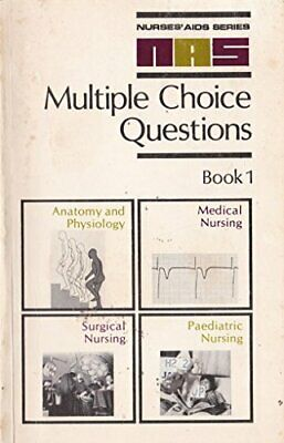 Multiple Choice Questions: Anatomy and Physiology,... by Jackson et al Paperback