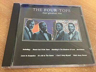 The four tops - their greatest hits -  CD 54VG The Cheap Fast Free Post The