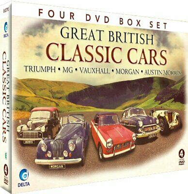 Great British Classic Cars [DVD] - DVD  9EVG The Cheap Fast Free Post