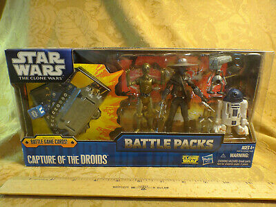 Star Wars The Clone Wars Battle Packs Capture Of The Droids NIB