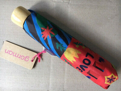 New with tags GORMAN river of love umbrella never opened