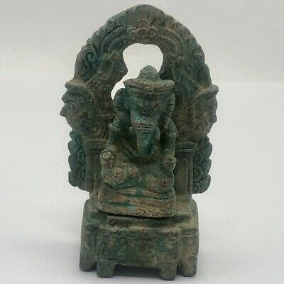 Antique China Cambodia Elephant Buddha Statue Khmer Angkor Wat Temple Old Relic