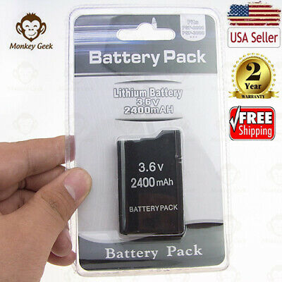 New 2400 3600mAh Replacement Battery for Sony PSP 2000 2001 3000