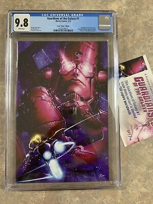 Guardians Of The Galaxy #1 Virgin Variant CGC 9.8 Crain Marvel Avengers nm