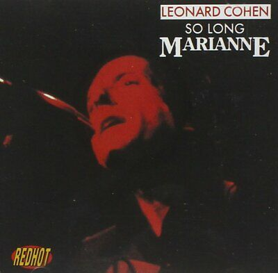 Leonard Cohen So Long Marianne CD NEW Suzanne/Bird On The Wire/Sisters Of Mercy+