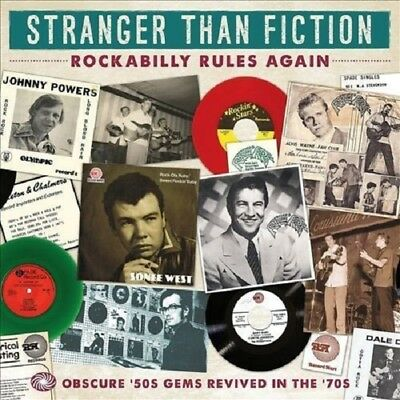 Stranger Than Fiction-Rockabilly Rules Again 3-CD NEW SEALED Jimmy Patton+