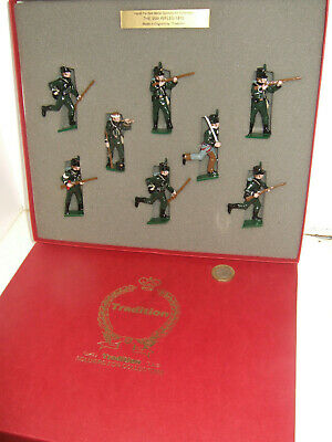 Tradition Soldier Set No 705, Napoleonic Wars Era, The 95th Rifles,1810 in 54mm